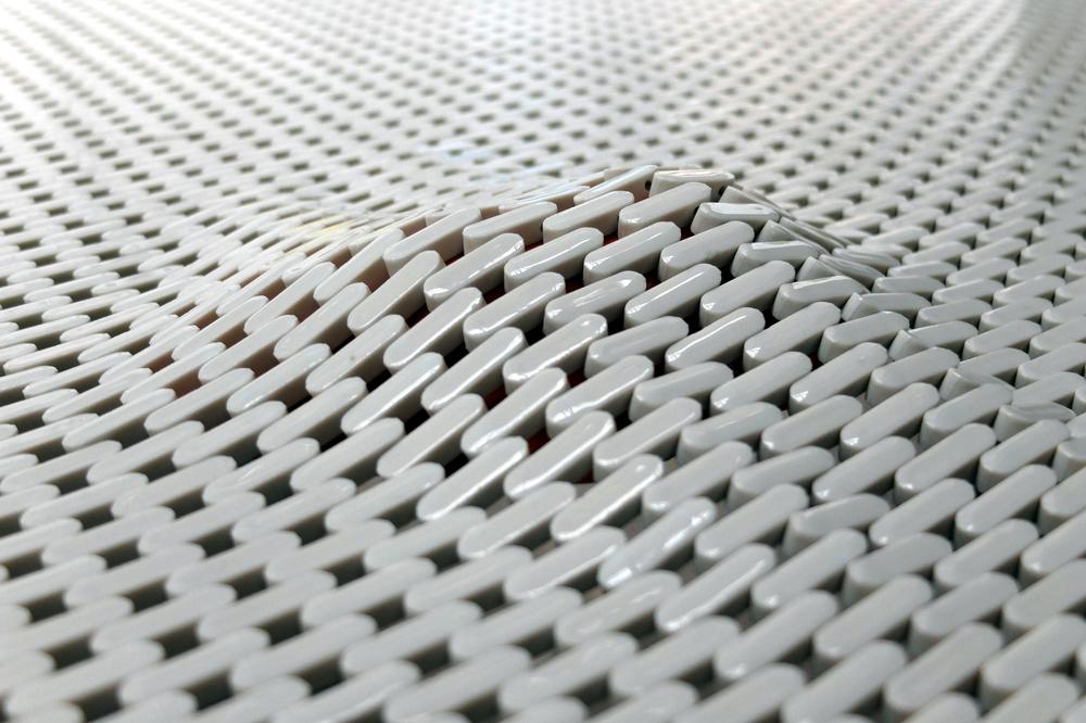 Tissu en porcelaine