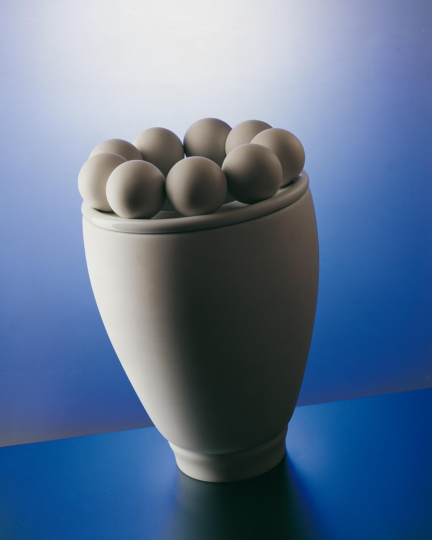 Vase à boules