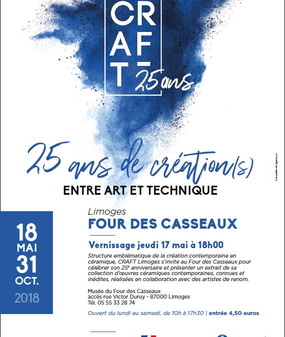 CRAFT 25 ans  Four des Casseaux Limoges